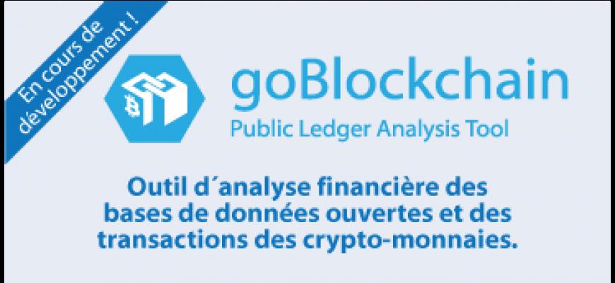 Outil d´analyse financière des  bases de données ouvertes et des  transactions des crypto-monnaies.