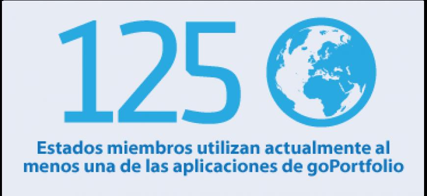 Estados miembros utilizan actualmente al  menos una de las aplicaciones de goPortfolio