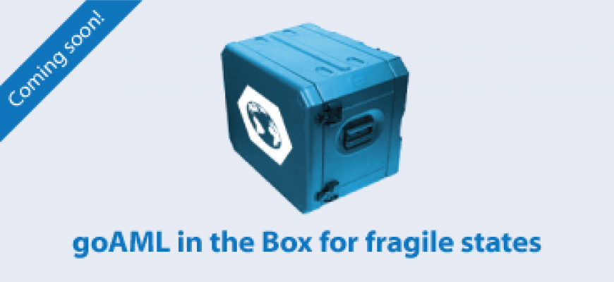 goAML in the Box for fragile states