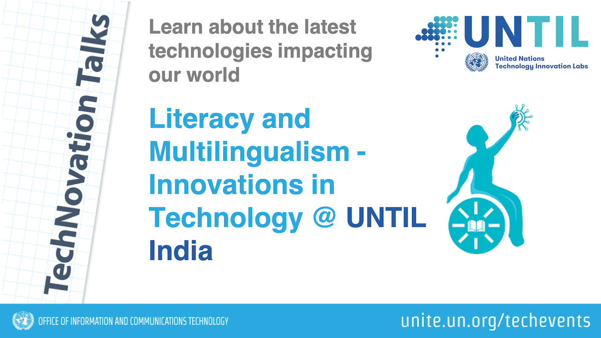 Literacy and Multilingualism @ UNTIL India