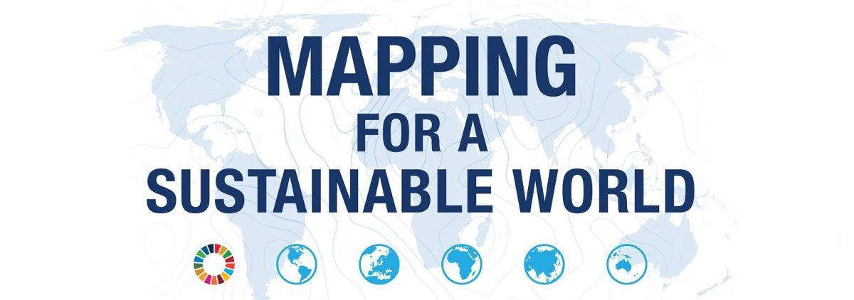 Mapping for a Sustainable World